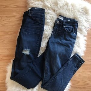 2 pairs of Pacsun skinny jeans